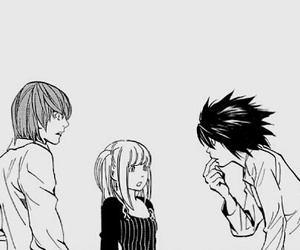 anime, manga, and death note image