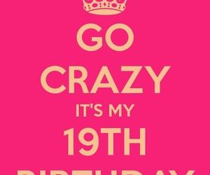 birthday and 19 image
