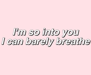 Lyrics, quote, and into you image