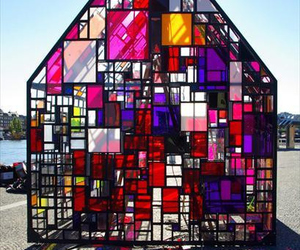 glass and house image