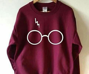 harry potter, harrypotter, and sweatshirt image
