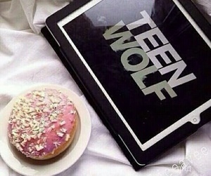 food, teen wolf, and donuts image