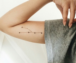 tattoo and constellation image