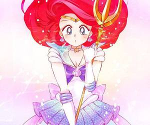 sailor moon, ariel, and anime image
