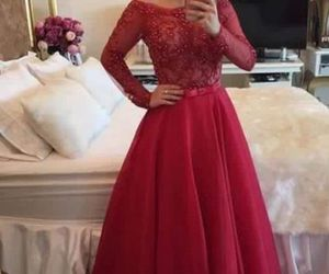 prom dress, formal dress, and woman dress image