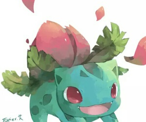 pokemon and ivysaur image