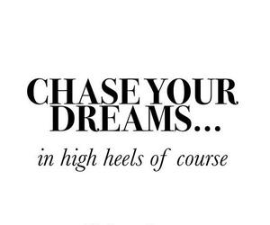 dreams and heels image