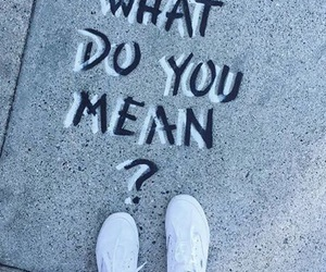 what do you mean, justin bieber, and shoes image