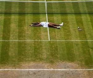 girl power, Serena Williams, and wimbledon image