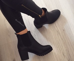 boots, fashion, and mode image