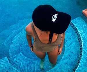 verano, pool, and quiksilver image