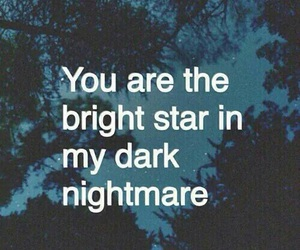 love, quote, and dark image