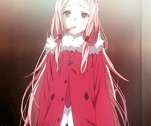 anime, mana ouma, and guilty crown image