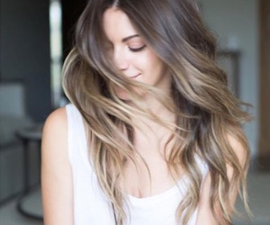 b, hair, and balayage image