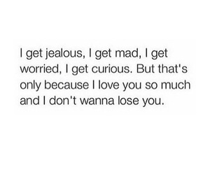 quote, feelings, and jealous image