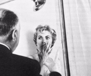 Psycho and Hitchcock image