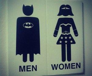 woman, men, and batman image