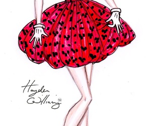 drawing, minnie mouse, and hayden williams image