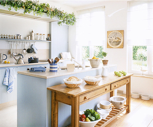 cottage, home, and kitchen image