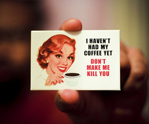 coffee, vintage, and text image