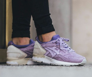asics, lavender, and shoes image