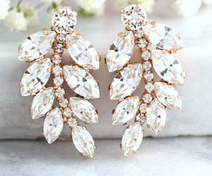 bridal, bridal jewelry, and jewelry image