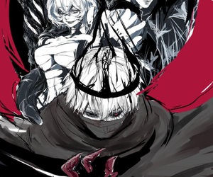 king, re, and tokyo ghoul image