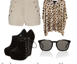 clothes, fashion, and glasses image