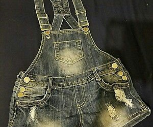 boho, ebay, and overalls image