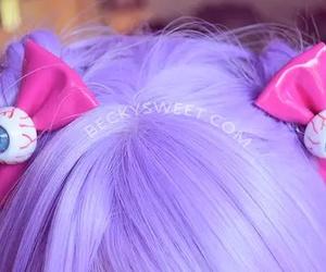 hair, pastel goth, and kawaii image
