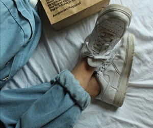 fashion, jeans, and pale image