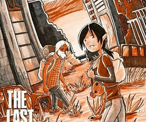 adventure time and the last of us image