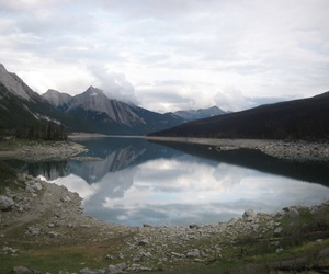 canada, clouds, and lake image