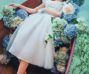 beautiful, dress, and fairytale image