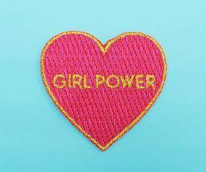 girl power, girl, and woman image