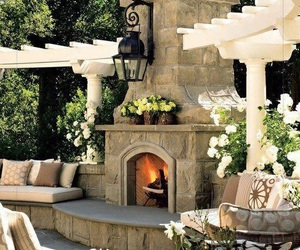 architecture, luxury, and patio image