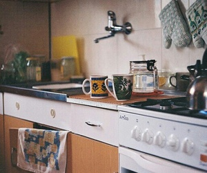 vintage, kitchen, and indie image