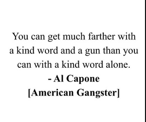 al capone, gangster, and gun image