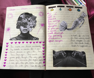 creative, art, and journal image