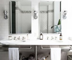 bath, interior, and Scandinavian image