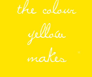 yellow, quotes, and smile image