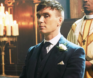 cillian murphy, thomas shelby, and peaky blinders image