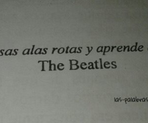 frases, the beatles, and fly image