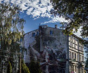 art, murals, and Poland image