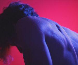 boy, grunge, and pink image