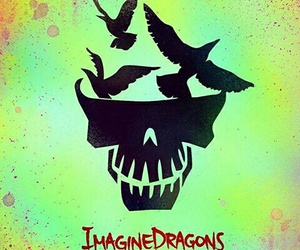 music, imagine dragons, and suicide squad image