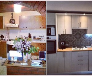 kitchen, beforeandafter, and kitchen inspiration image
