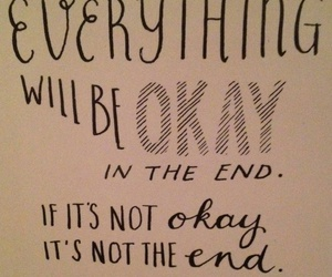 fine, okay, and the end image