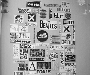 music, oasis, and band image