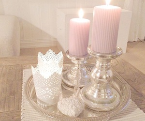 candles, home, and decoration image
